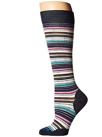 5ceb1a68f Smartwool Margarita Knee Highs (Deep Navy Heather) Womens Knee High Socks  Shoes