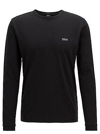 BOSS T-shirt en coton à manches longues et logo en gomme sur lépaule59. 3e9f1d10c596