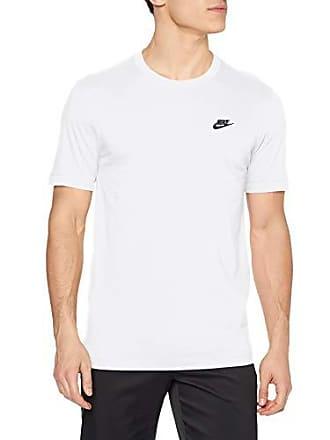 46ff87d7c1 Nike Club Tee, T-Shirt Uomo, Bianco (White/Black 101)