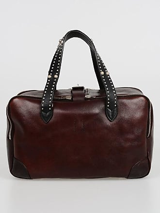 Golden Goose Studded Leather EQUIPAGE Bowling Bag size Unica