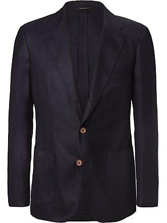 Loro Piana Navy Voyager Slim-fit Cashmere Blazer - Navy