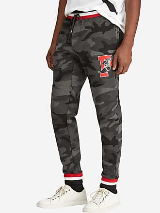49ab24e3d287ed Polo Ralph Lauren Pantalon de jogging motif camouflage siglé Gris Polo  Ralph Lauren