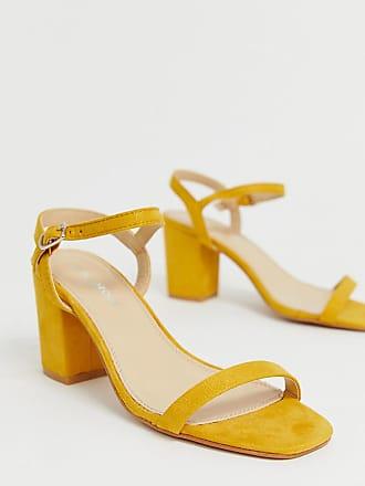 6cd2632d2b2f87 Glamorous Sandalen mit Blockabsatz in Gelb - Gelb