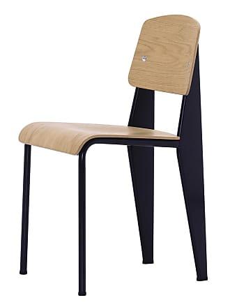 Vitra Standard Chair Black & Oak