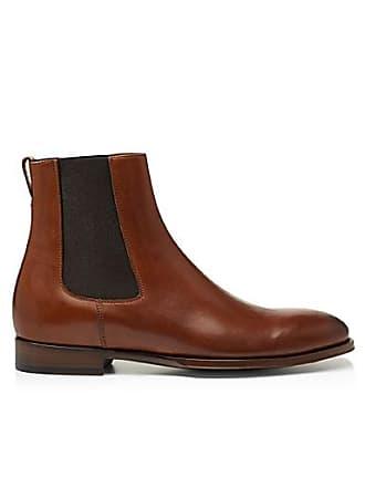 Paul Smith Joyce cognac leather Chelsea boots