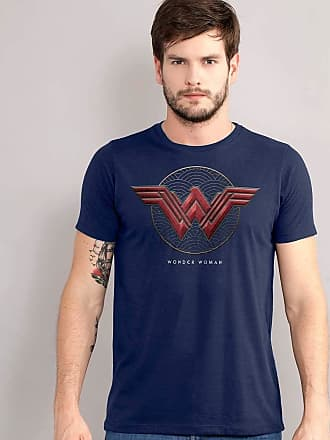 DC Comics Camiseta Wonder Woman Logo Authentic