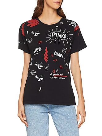 acdaf30c422 Pinko® Short Sleeve T-Shirts: Must-Haves on Sale up to −66% | Stylight