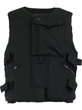 Junya Watanabe zipped down vest - Black