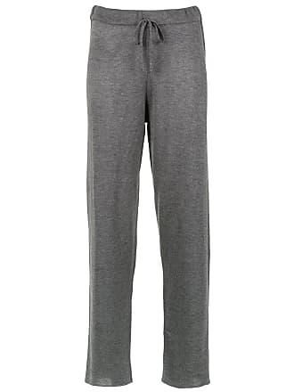 Uma Verônica straight-fit trousers - Grey