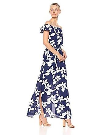 21c8d0c8158e Adrianna Papell Womens Simple Delight Ruffled Maxi Dress
