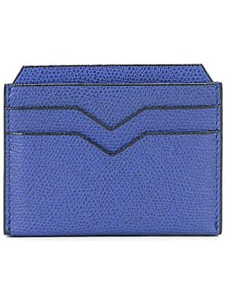 Valextra flat cardholder - Azul