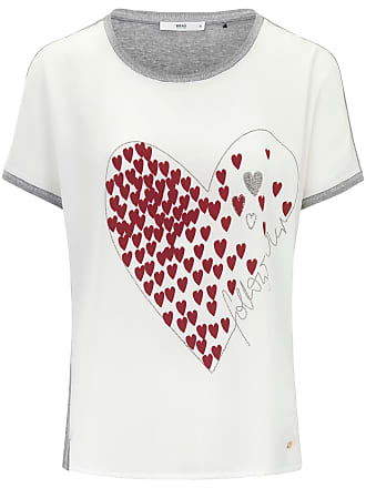 8b6bce3440db91 Brax Blusen-Shirt angeschnittenem 1 2-Arm Brax Feel Good mehrfarbig