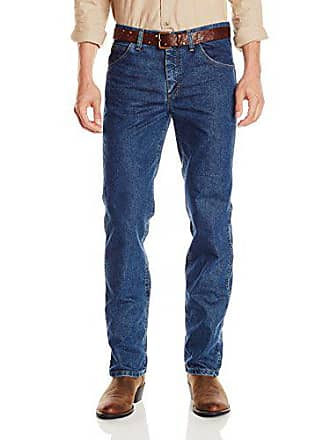 Wrangler Mens Big-Tall Premium Performance Cool Advantage Cowboy Cut Slim Fit Jean, Dark Stone, 33x38