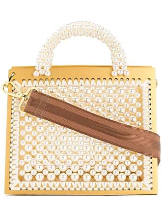 0711 large st. barts purse - White