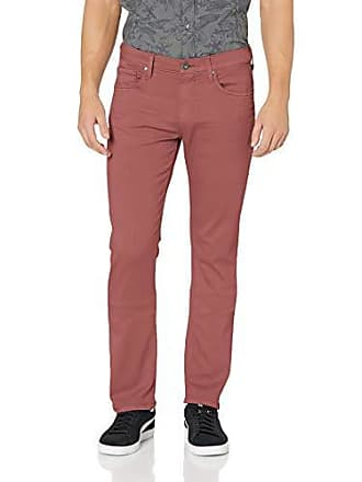 Paige Mens Federal Slim Straight Leg Jeans, Dusted Rose, 36