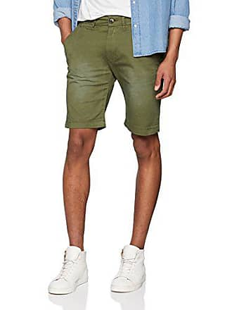 a0f6391460d Pepe Jeans London MC Queen Short Short Homme Vert (Khaki Green) Taille  Fabricant
