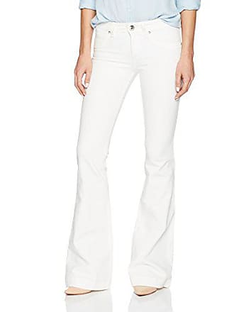 DL1961 Womens Joy Flare Jeans in Milk, 25