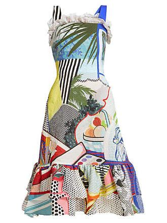 97ed8dee5c60 Mary Katrantzou Kara Pop Art Print Crepe Dress - Womens - Multi