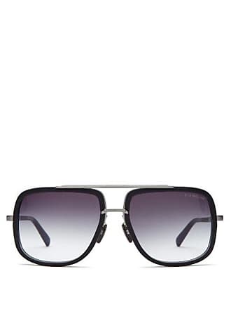 38c26996a4 Delivery  free. Dita Eyewear Mach One Aviator Titanium And Acetate  Sunglasses - Mens - Black