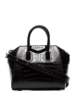 Givenchy mini Antigona croc-effect tote - Preto