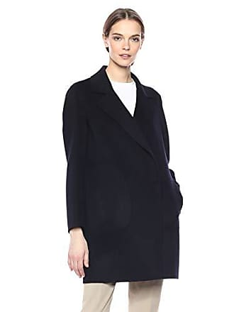 6d7d35f52c7 Theory Womens Single Button Long Sleeve BOY Coat, Nocturne, S