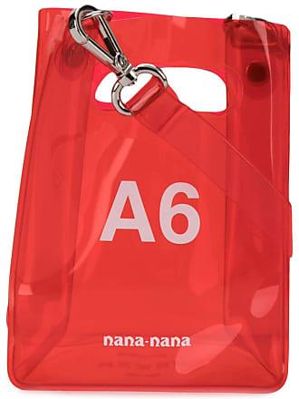 Nana-Nana Bolsa tote mini A6 - Vermelho