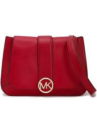 560bd8298273 Michael Kors Michael Michael Kors Woman Leather Shoulder Bag Claret Size