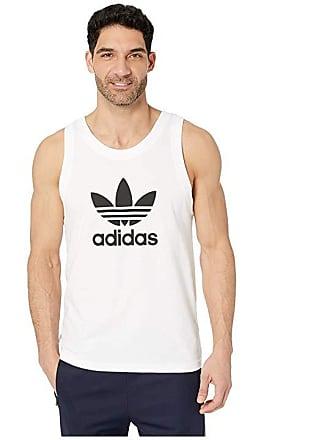 26c63d0ea30e3 adidas Originals Trefoil Tank Top (White) Mens Sleeveless