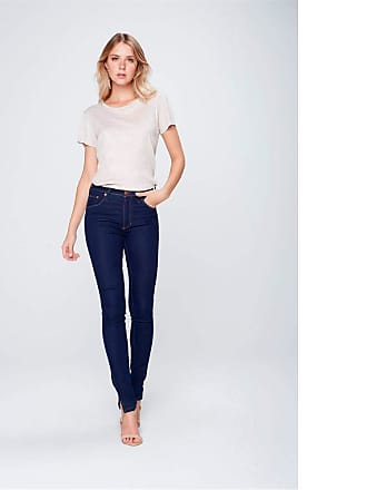 Damyller Calça Jegging Jeans com Fenda na Barra Tam: 40 / Cor: BLUE