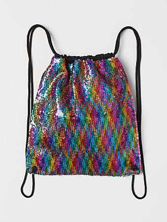 H&M Bag with Reversible Sequins - Purple