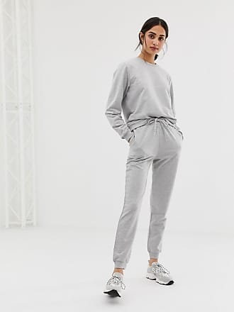368c8dafacec6a Asos tracksuit ultimate sweat / slim jogger with tie - Gray