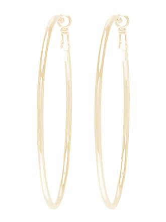 Forever New Louise Large Fine Hoop Earrings - Gold - 00