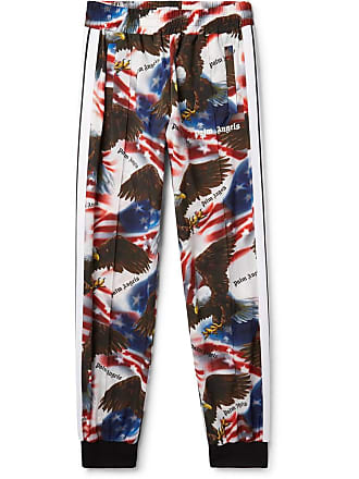 Palm Angels Tapered Printed Shell Sweatpants - Multi