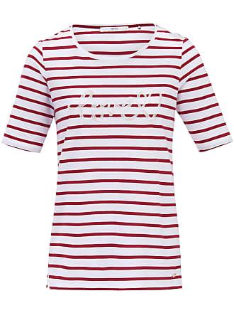 be561a6157b11f Brax Rundhals-Shirt Schriftzug vorne Brax Feel Good mehrfarbig