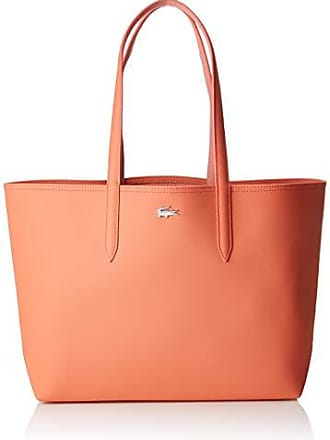 6a52bc2ecf Lacoste femme Nf2142aa Sac porte epaule Rose (Coral Lobster Bisque)