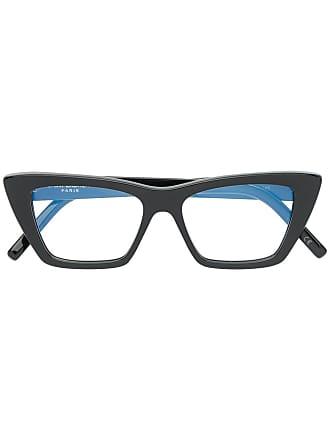 Saint Laurent Eyewear lunettes de vue à monture papillon - Noir 0c5b1ee349a1