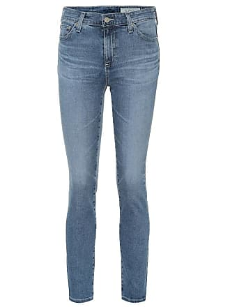 AG - Adriano Goldschmied The Mari high-rise straight jeans
