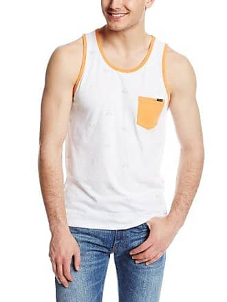 O'Neill Mens Brookside Tank Top, Orange, Large