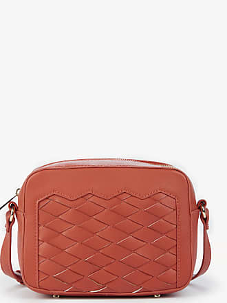 Sole Society Womens Adrina Vegan Crossbody Bag Coral Vegan Leather From Sole Society