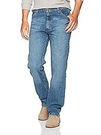 Wrangler Authentics Mens Big and Tall Classic Regular Fit Jean, Vintage Blue Flex, 48x32