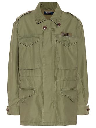 Polo Ralph Lauren Cotton twill military jacket