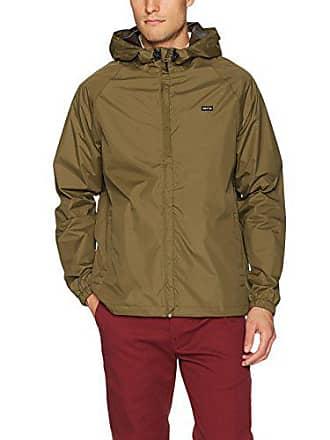 0e9ed2b62f6 Brixton Mens Maven Standard Fit Hooded All-Terrain Jacket, Olive, Large