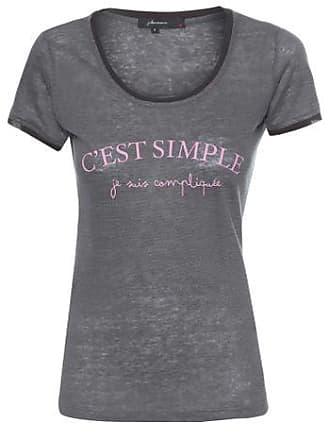 J. Chermann T-shirt Cest Simple J. Chermann - Cinza