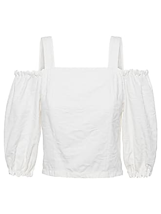 Mixed TOP CROPPED BEACH - OFF WHITE