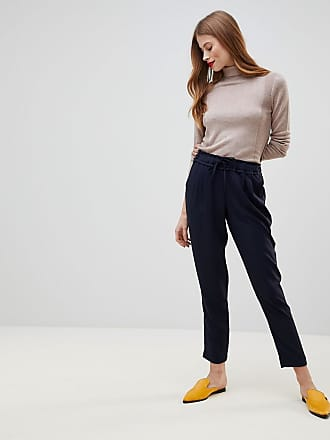 Y.A.S Drawstring Smart Pants - Navy