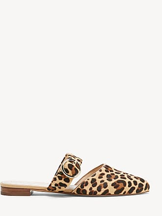 9ad02c6604e0 Sole Society Womens Pravar Two Piece Mules Tan Multi Size 10 NEW CLASSIC  LEOPARD From Sole