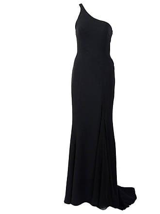 5c985b683e45 Versace Gianni Versace Black Silk Chiffon One Shoulder Open Back Gown