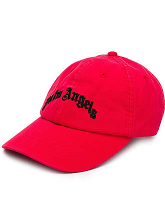 Palm Angels logo cap - Red