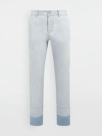 Maison Margiela Maison Margiela Casual Pants Azure Cotton, Elastane