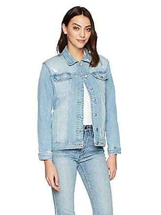 Joe's Womens MEMRIE Jacket, Destructed Light Blue, S
